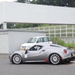 アルファロメオ4Cラジアルタイヤ最速プロジェクト、最速タイム更新!