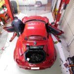 アルファロメオ4Cデモカーの製作を開始
