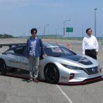 EVスポーツ専用車、リーフ NISMO RCに試乗 by 太田